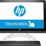 """Pre-Owned HP - 23.8"""" Touch-Screen All-In-One - Intel Core i3 - 8GB Memory - 1TB Hard Drive"""